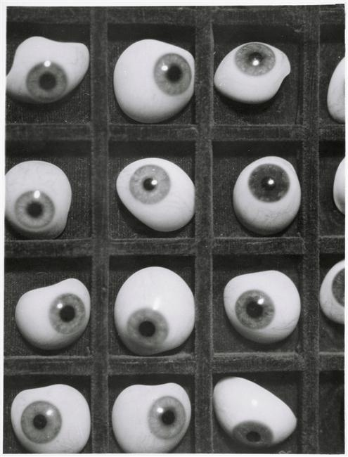 surreal of the day:Herbert Bayer ~Glas augen,1928[few more before] #bayer #eyes #glass #photography #herbert