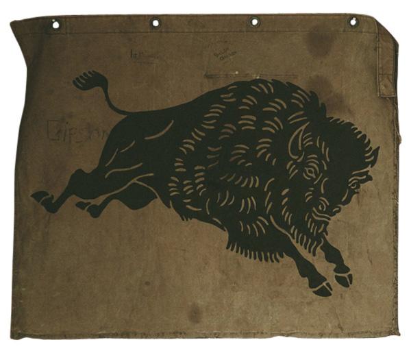 #land #buffalo #illustration
