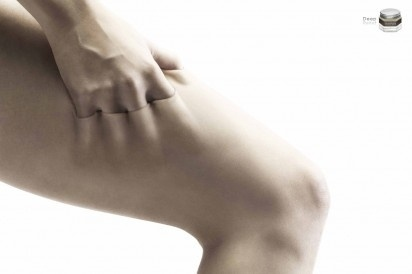 I Believe in Advertising | ONLY SELECTED ADVERTISING | Advertising Blog & Community » Harnn Massage Balm: Leg #advertising