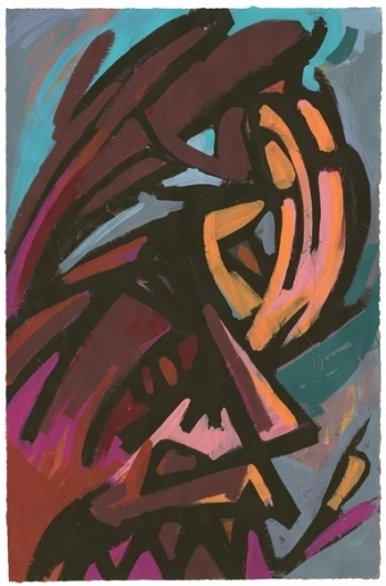 All sizes | Red Face | Flickr - Photo Sharing! #painting #face #art