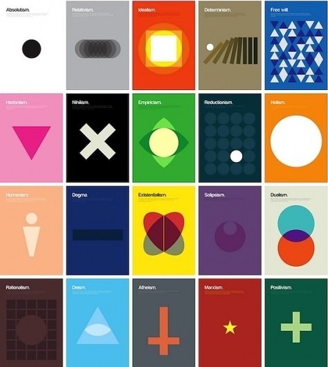 Philosophical Theories by Genis Carreras   123 Inspiration #theories #philosophical #posters