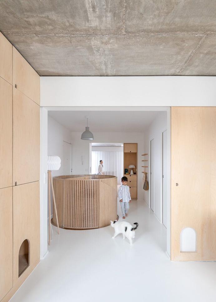 Sacha Apartment in Paris / SABO Project