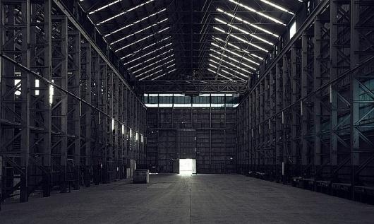 Massive_Corridor_StraightOn | Flickr - Photo Sharing! #light #architecture #industry #interiors