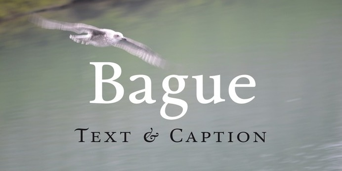 bague serif