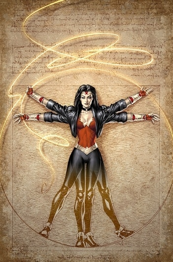 Wonder Woman No. 604 by *AlexGarner on deviantART #wonder #illustration #comics #woman