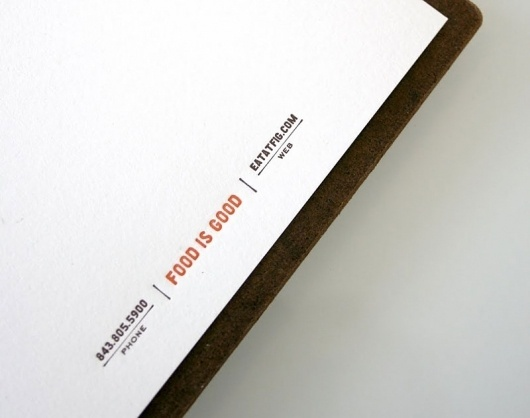 Graphic-ExchanGE - a selection of graphic projects #letterhead #restaurant #stationery