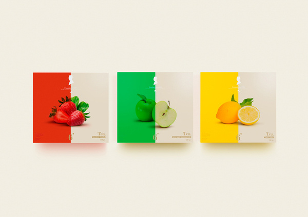 El Aristo® #diseo #apple #red #packaging #argentina #design #color #minimalism #simple #strawberry #brand #tea #pure #pack #logo #lemon #buenos #aires