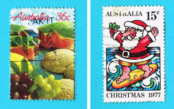 70s Australian Stamps #stamps #70s #80s #philatelic