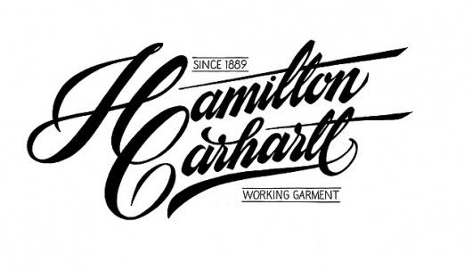 Carhartt SS 2011 - Hamilton Carhartt | Flickr - Photo Sharing! #typography