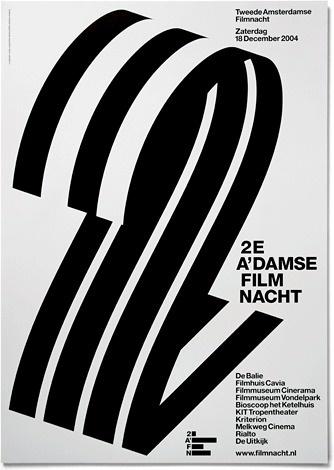 2AFN - Experimental Jetset #print #design #experimental #black #grid #poster #film #jetset #2afn
