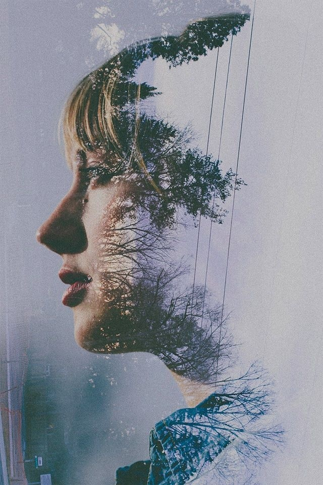 Double Exposure – Double Exposure #photography #double #exposure #portrait