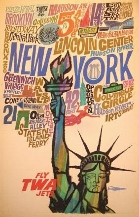 Typography « Drawn! The Illustration and Cartooning Blog #york #illustration #vintage #new