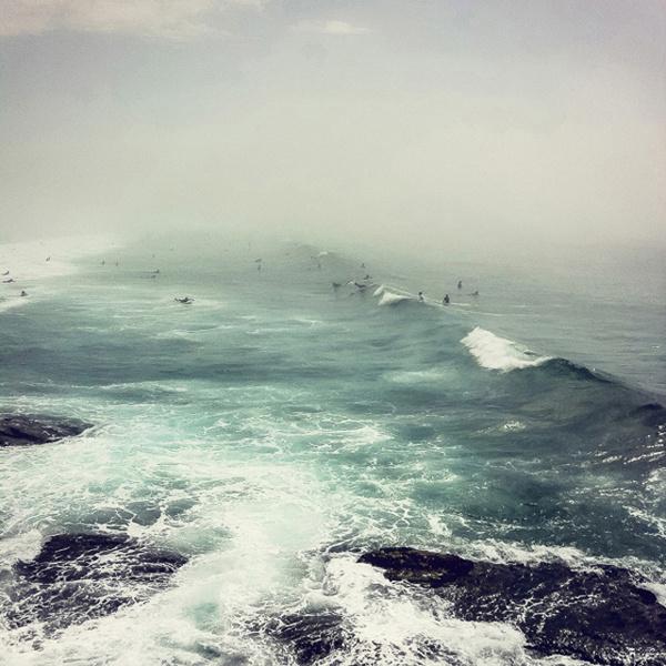"CJWHO ™ (""Bondi Haze"" – Bondi Beach Sydney Photography by...) #bondi #ocean #sydney #design #landscape #photography #art #australia #beach"