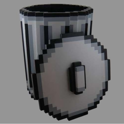 Pixel Trash Can #garbage #pixel #trash