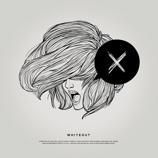 Silence Television - Blog #illustration #girl