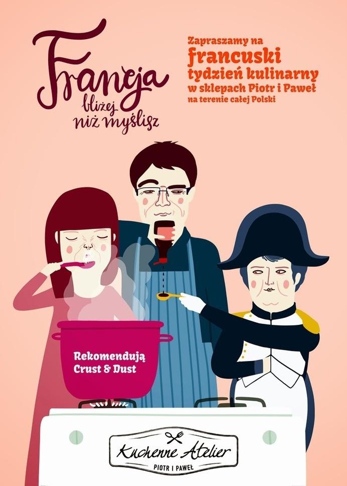 slimaq #cooking #france #illustration #kitchen #poster