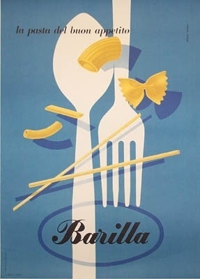 All sizes | Carboni Barilla Pasta | Flickr - Photo Sharing! #pasta #italy #poster
