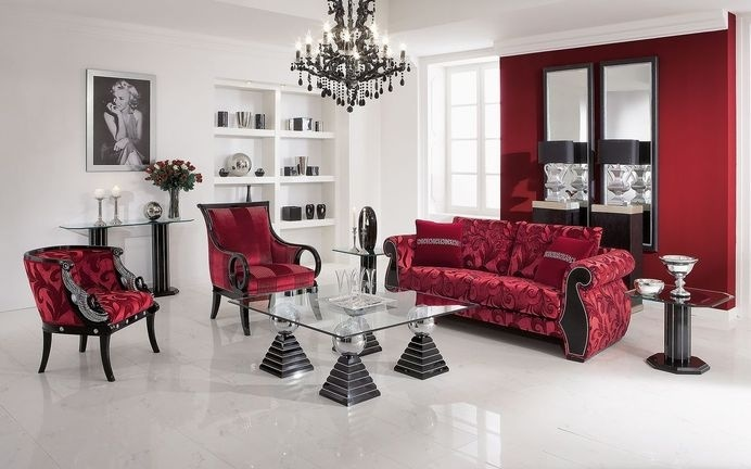 Upholstered lounge suite - art of beauty by Finkeldei - www.homeworlddesign.com (2) #inspiration #lounge #homedecor #homedesign