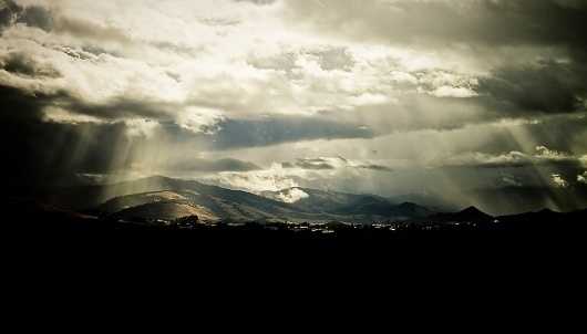 bluesteel | Flickr - Photo Sharing! #clouds #photography #light #mountains