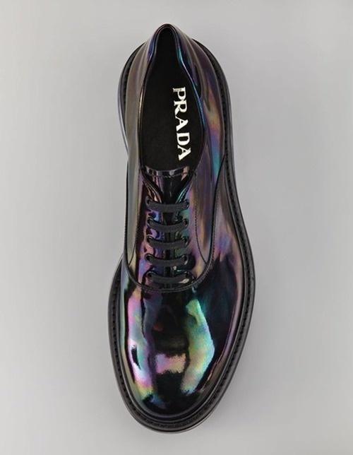 PRADA http://labelsandlogos.tumblr.com/ #fashion #color #shoes #prada