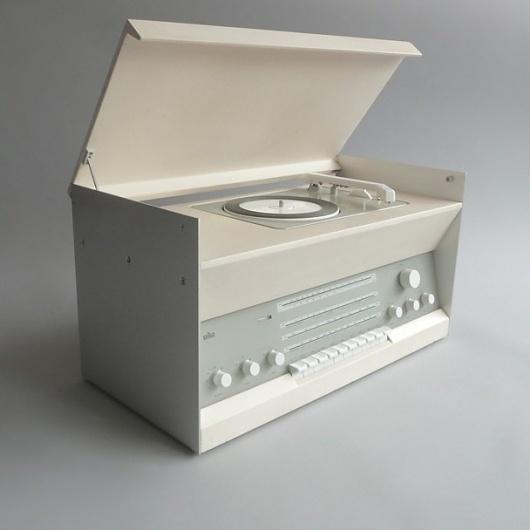 Braun electrical - Audio - Braun Atelier 3 #portable #design #player #record #1960s #industrial #braun #vintage #rams #dieter