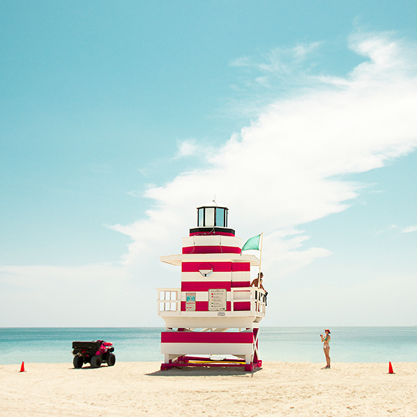 South Beach by David Behar on Behance #david #behar #miami #art #deco #beach