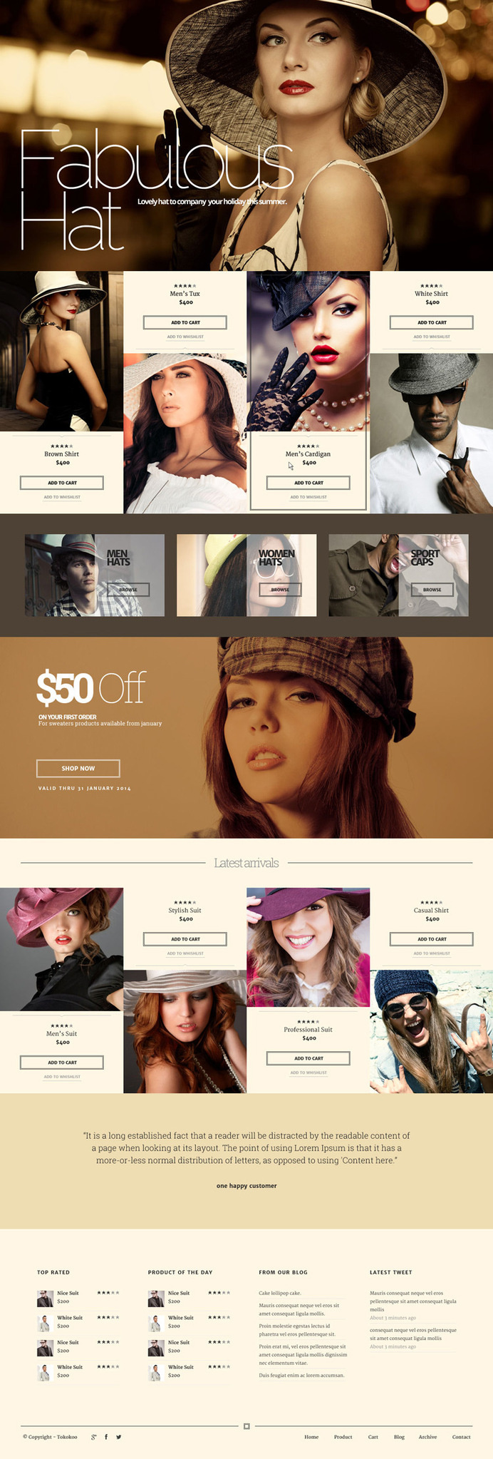 fashion, hat, ecommerce, brown, concept, layout, website #ecommerce #website #brown #hat #concept #fashion #layout