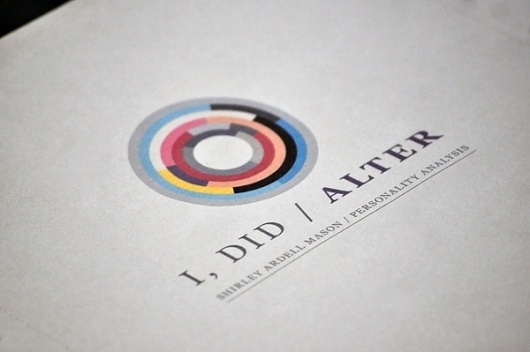 I, DID / ALTER (ISTD) on the Behance Network #logo #identity