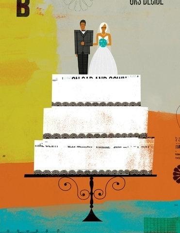 FFFFOUND! #illustration #wedding #texture