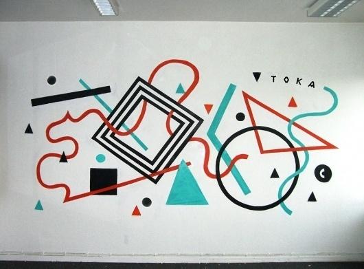 TOKAE #tokae #graffiti #minimal #art #type