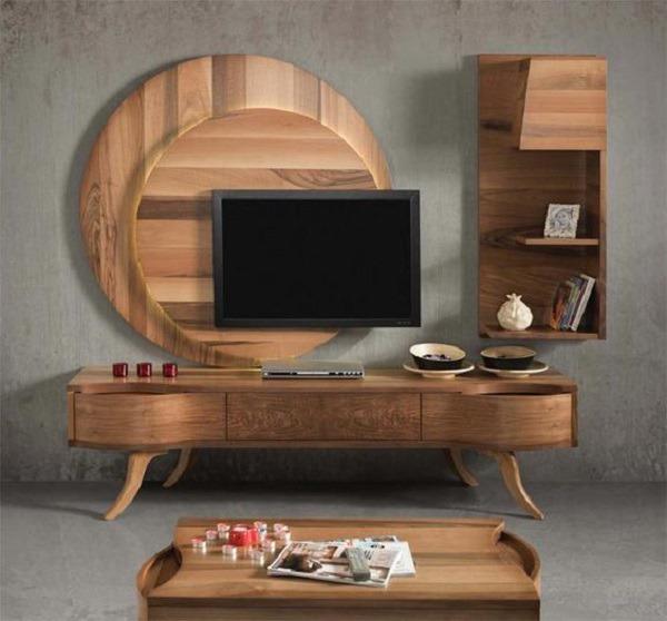 50 Inspirational TV Wall Ideas   Art and Design