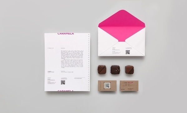 Caramela on the Behance Network #packaging #color #typography