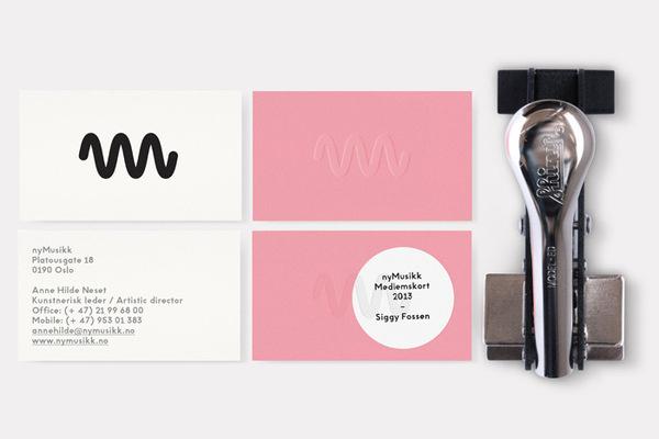 Non Format: nyMusikk / on Design Work Life #logo #design #graphic #identity