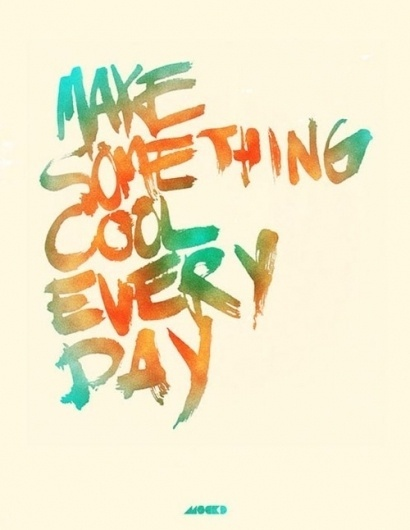 Tumblr #bright #script #quote #typography #bold #personality #colorful #action #cool