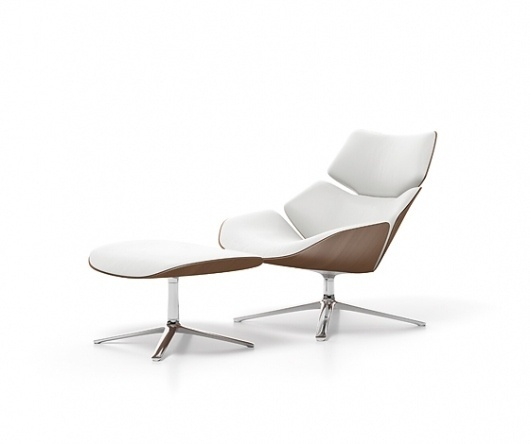 'Shrimp' armchair by Jehs+Laub for Cor (DE) at imm cologne 2011 @ Dailytonic #furniture #chairs