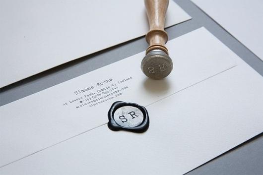Simone Rocha | Conor Cronin #seal #logo #symbol