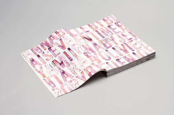 Rika Magazine by NR2154 | Trendland: Fashion Blog #paint #photography #editorial #magazine #typography