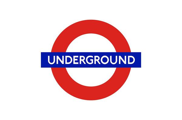 London Underground Brand Logo Designed (1915) by Edward Johnston #logo #design