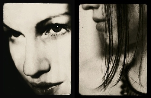 telltale | Flickr - Photo Sharing! #diptych #photography #bw #portrait