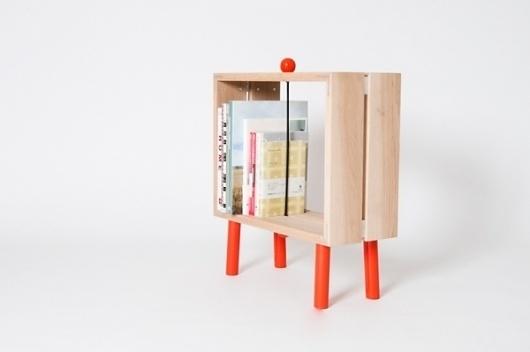 Slot Boks : Studio Jenk #bookcase #furniture