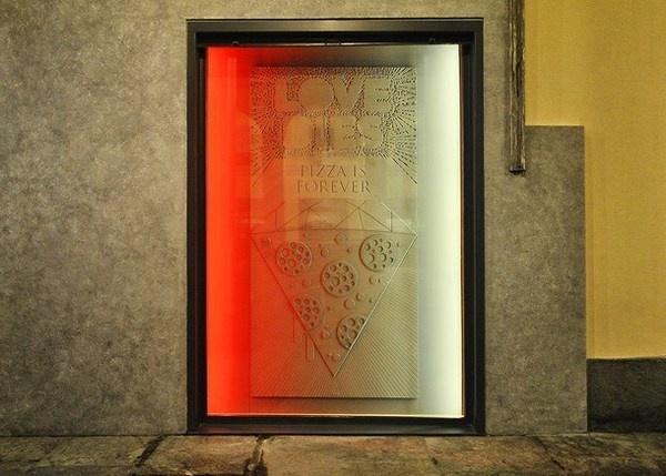 Pizza art wall decoration #artistic #pizzeria #decor #restaurant #art #pizza #decoration