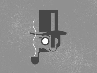 Dribbble - The Connoisseur by J Fletcher Design #texture #illustration #pipe #connoisseur #sir