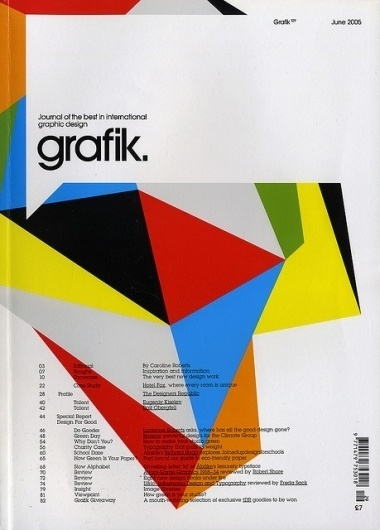 Volume Colours #grafik #avant #cover #garde #magazine