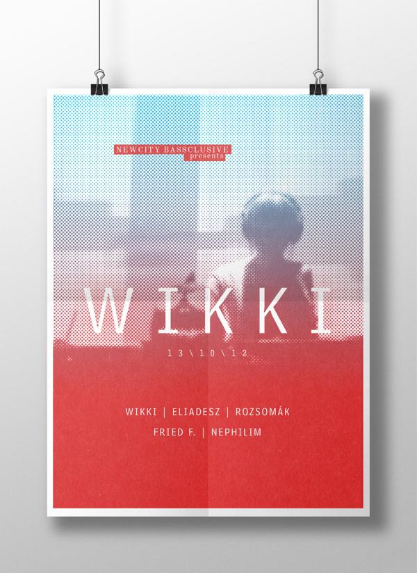 NCB / Wikki on Behance #print #design #graphic #wikki #ncb #poster