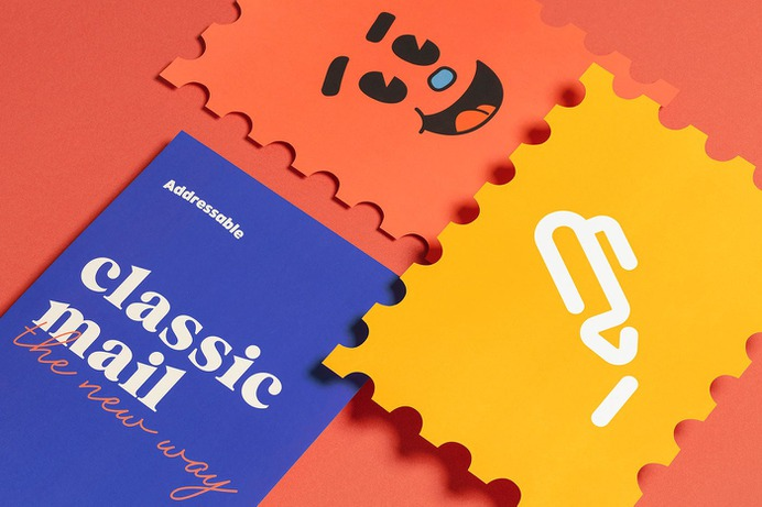 Addressable - Mindsparkle Mag the branding people designed Addressable – a brand with a vision to deliver the right message to the right person. Through a web app, the service makes use of a robotic arm programmed to create personalized handwritten letters resulting in an inviting and effective business-to-client experience. #logo #packaging #identity #branding #design #color #photography #graphic #design #gallery #blog #project #mindsparkle #mag #beautiful #portfolio #designer