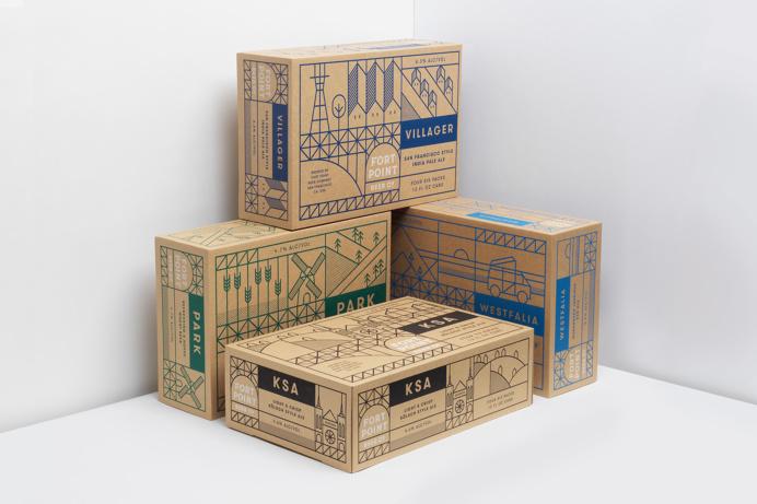 Packaging, Graphic Design, Line Art