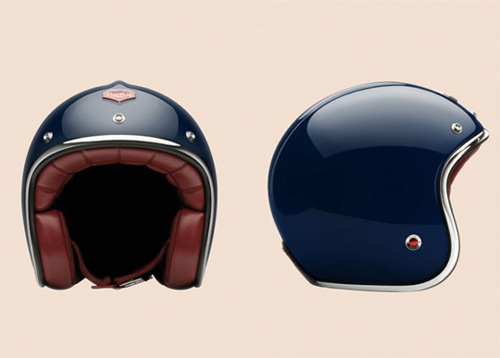 THE BROWN WORKSHOP #blue #helmet #head