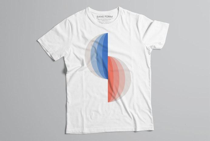 Hey Sans Form #shirt