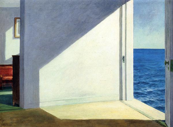 Rooms by the Sea — Edward Hopper   biblioklept #hopper #sea #edward #painting