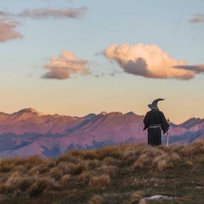 #GandalfTheGuide: Akhil Suhas Explores New Zealand with Gandalf Costume